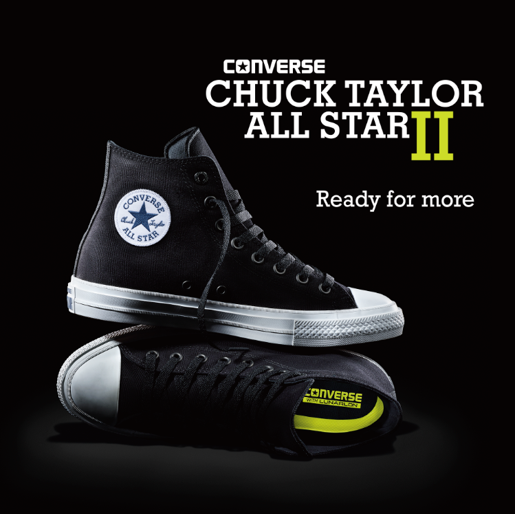 d14ccd5252bc one of the most iconic silhouettes in history gets an upgrade converse  chuck ii drops tuesday