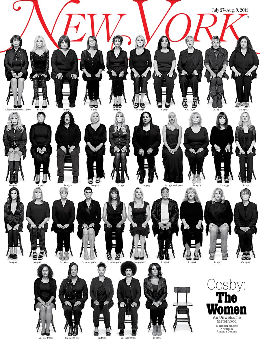 35 women speak about being assaulted by Bill Cosby, and the culture that wouldn't listen: http://t.co/H5dss5F2F4
