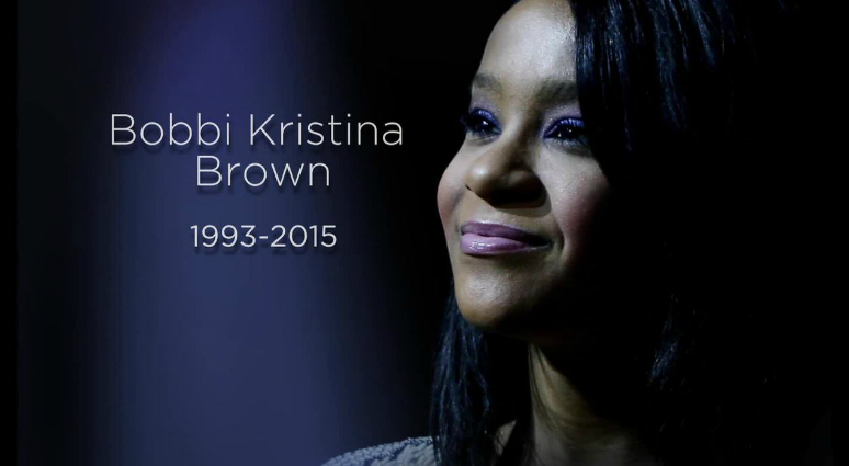 RIP #BobbiKristina Brown -- family says she is 'at peace in the arms of God.' http://t.co/E1cF3WEMYl #5Things