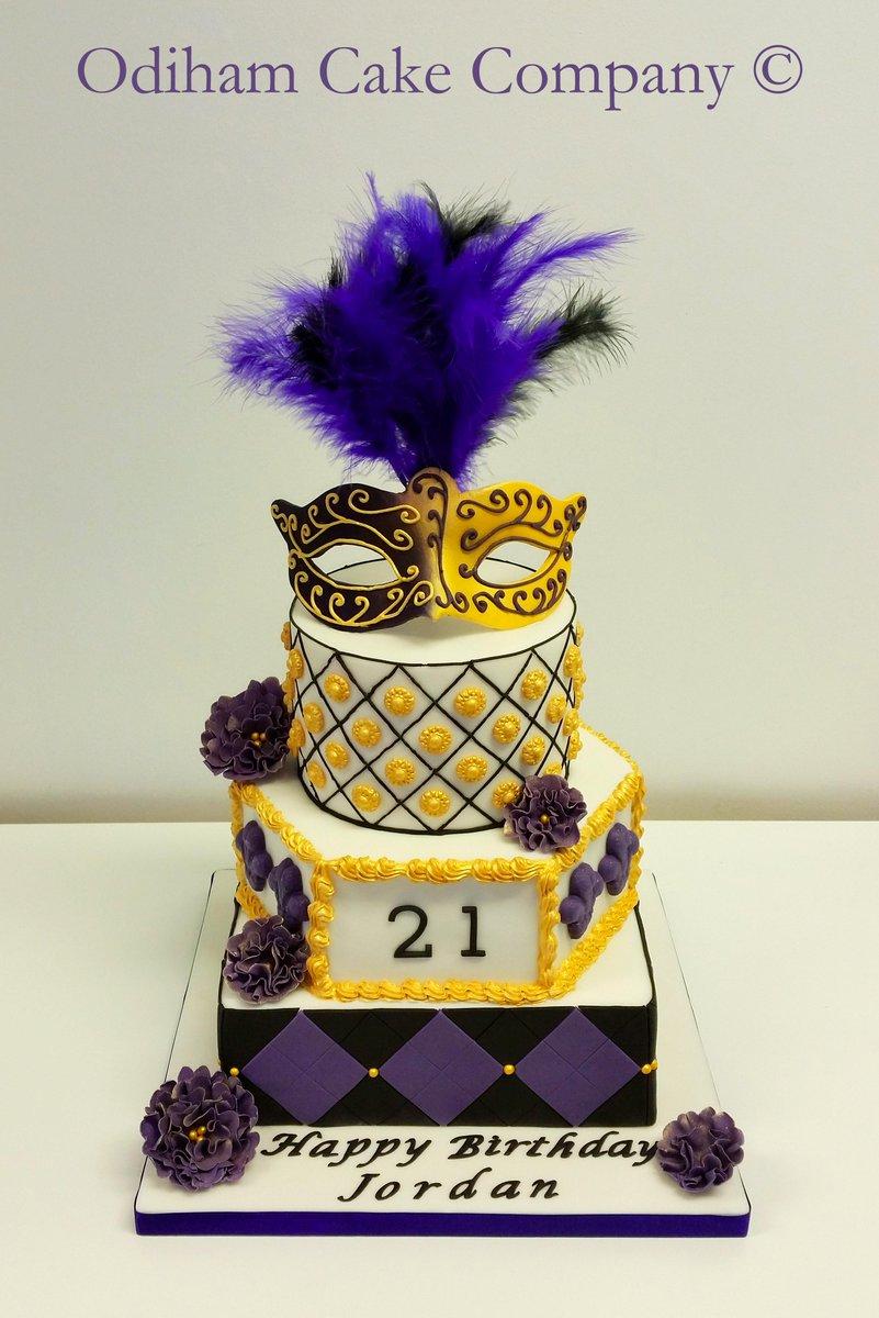 Odiham Cake Company On Twitter Masquerade Ball Themed Birthday