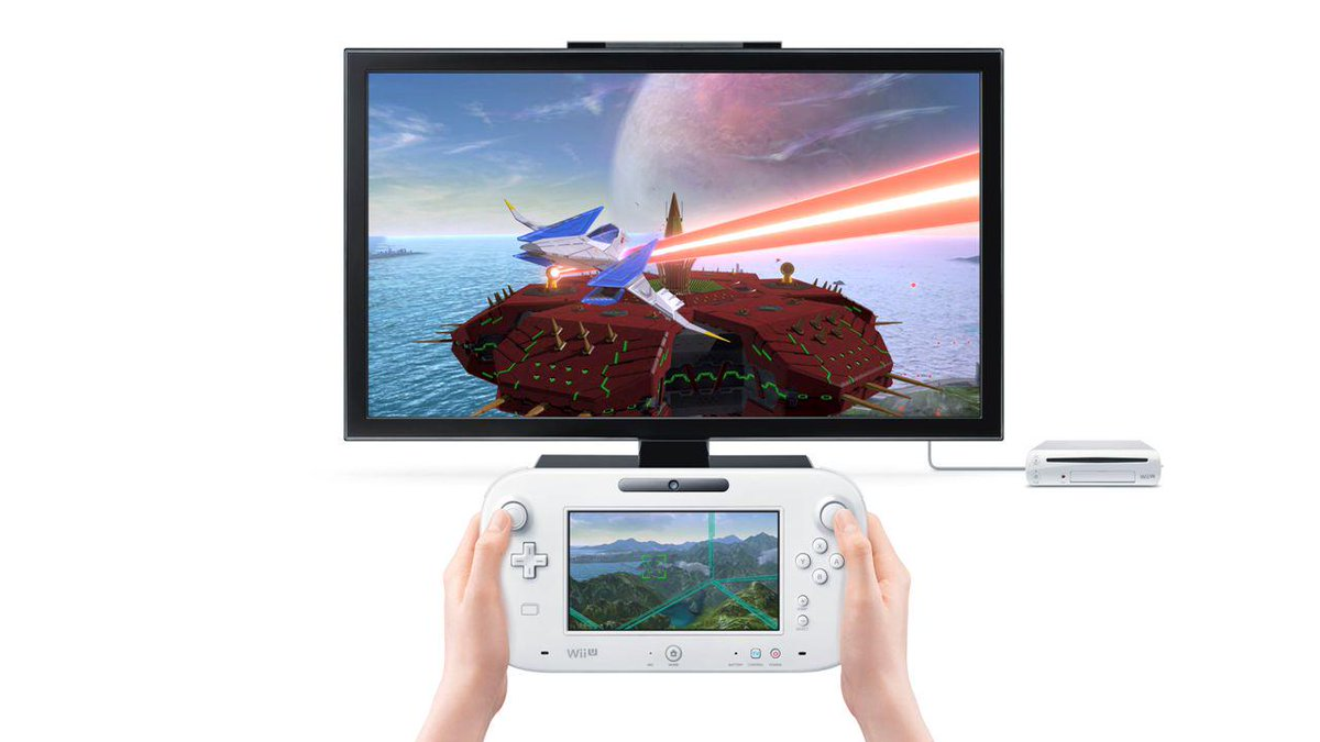 The Wii U GamePad will allow you to experience Star Fox Zero with two different viewpoints from the Arwing!
