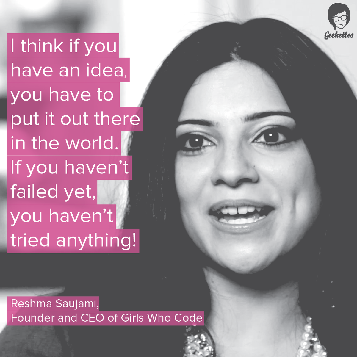 Have a nice week! #quotes #womenintech cc: @GirlsWhoCode http://t.co/UrNUg9azeP