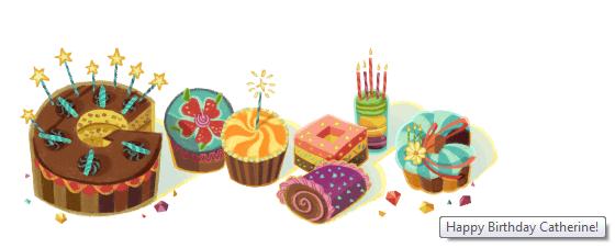 FOTO Torta di Compleanno per Google che festeggia con un Doodle in prima pagina