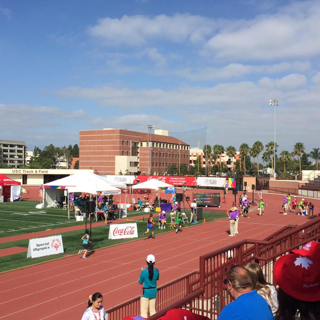 Beautiful California weather!!! #LA2015 #SpecialOlympics #ReachUpLA http://t.co/9JouvdT4i8