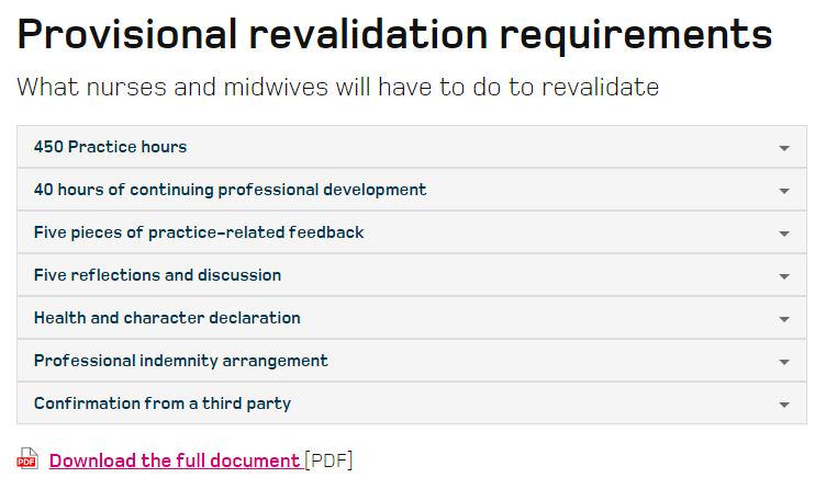 Thumbnail for #Revalidation Twitter chat on feedback and reflection - Monday 27 July