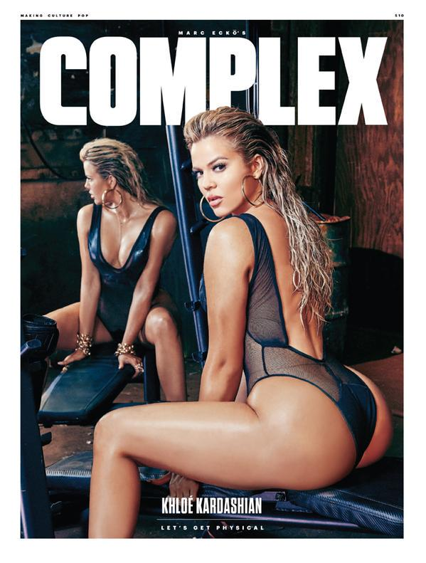 KHLOE KARDASHIAN covers the Aug/Sep issue of COMPLEX. Read the full story by @laurennostro: http://t.co/3USp57jjXs http://t.co/rzJsSol32K