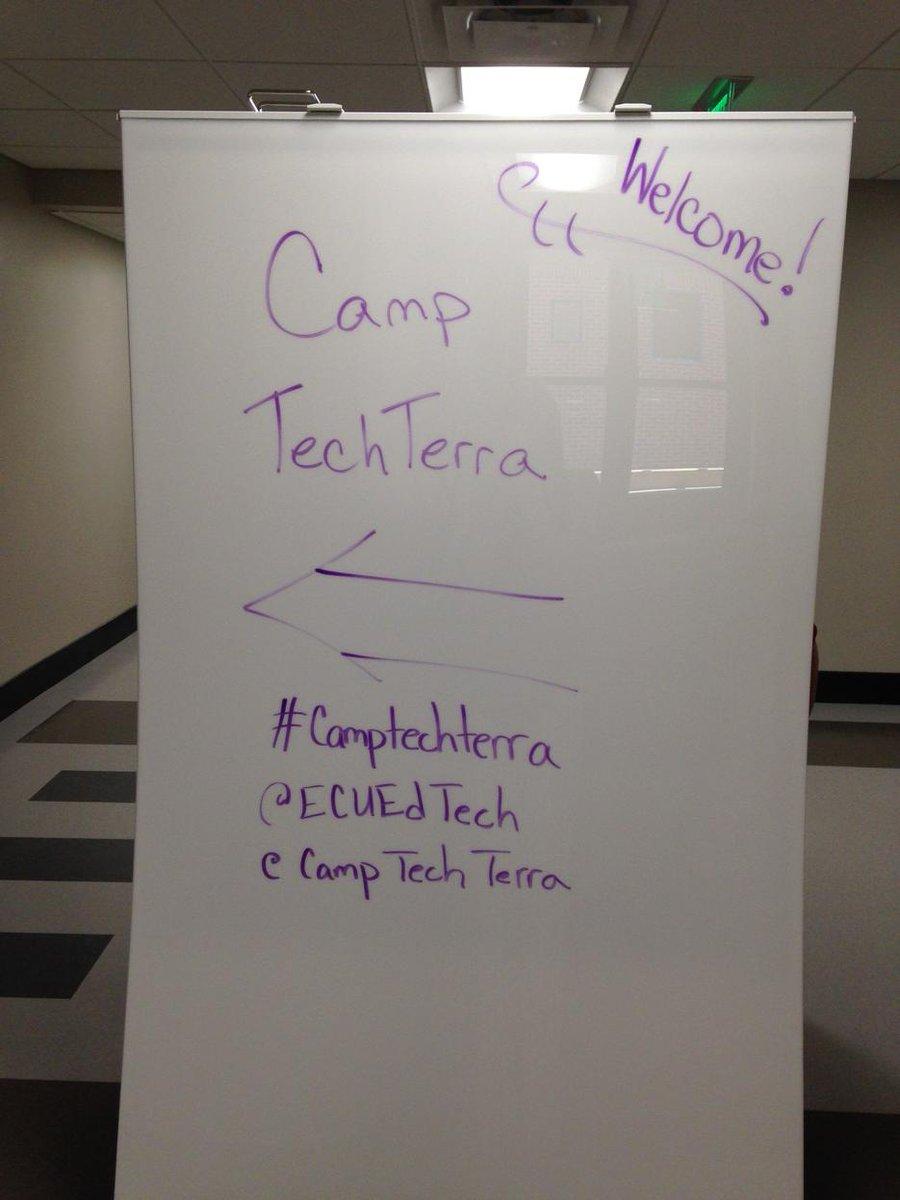 It's about to begin!#camptechterra @ECUEdTech @camptechterra http://t.co/JQaQfY3YSM