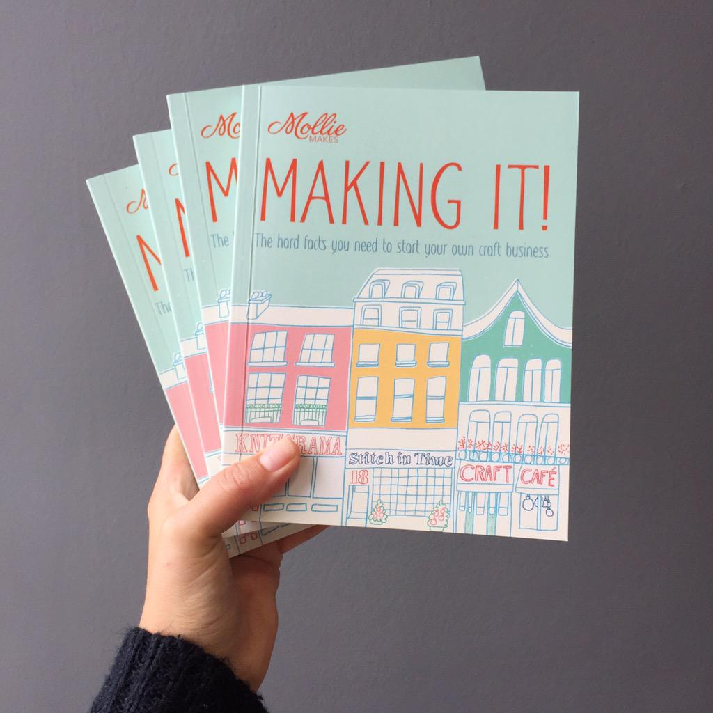 #Win Making It! & get facts you need to start a business. RT to enter. (Ends 28/07/15 10am. 8 wins) @pavilioncraft http://t.co/YaasM1ei5t