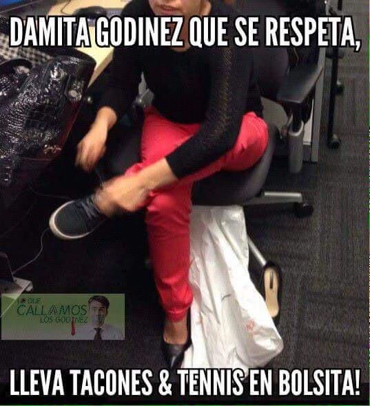 Damita Godinez empoderada | Funny | Memes divertidos ...