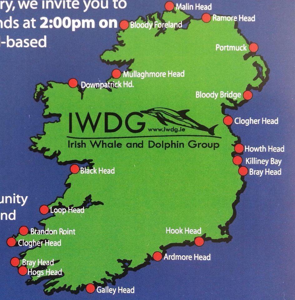 Map Of Ireland Headlands.Iwdg Hashtag On Twitter