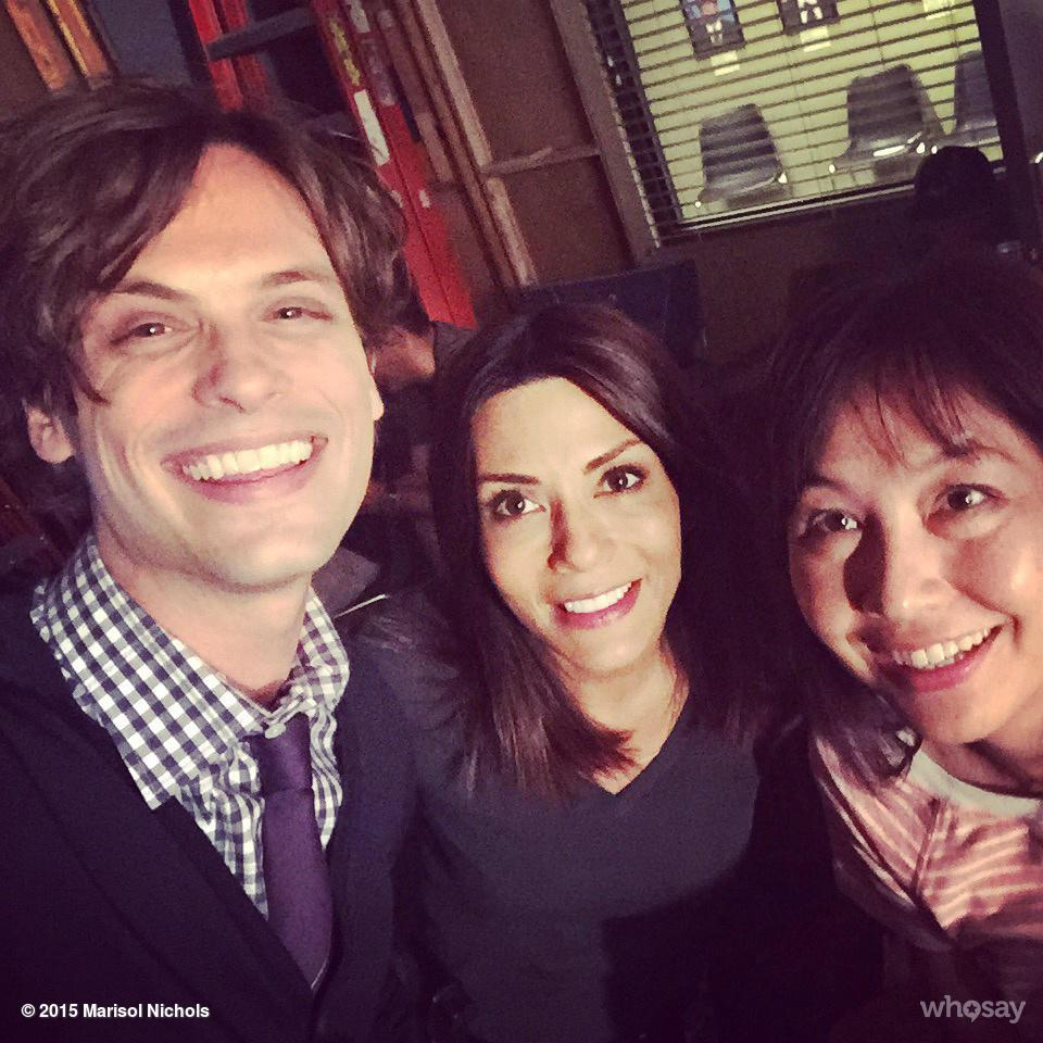 Super fun work day on @CrimMinds_CBS with the hilarious @gublernation http://t.co/GxRyBVgO3q