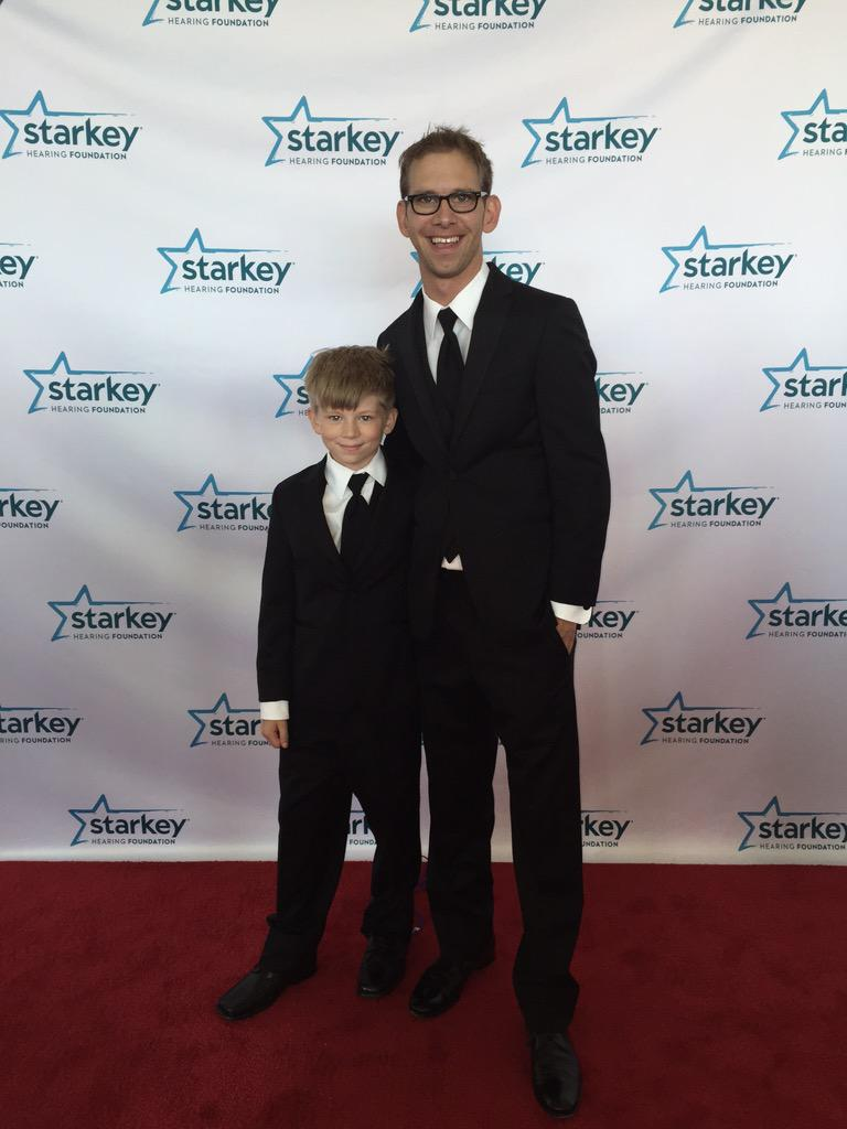 """""""Dad, Starkey makes me want to help others""""  Thank You @starkeycares 4 helping to instill values in littles angels http://t.co/vu1ztIcK2d"""