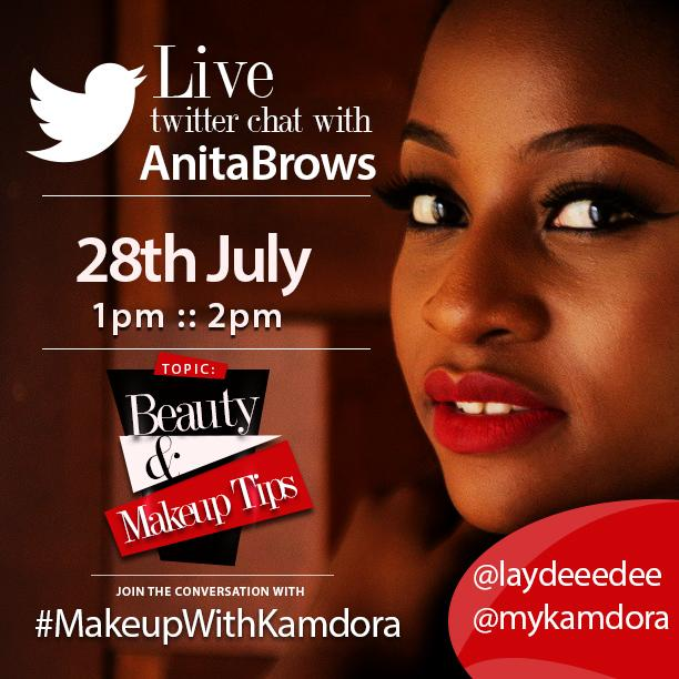 I'm super excited to answer some of yout beauty questions. Be sure to tag #MakeupWithKamdora to join the convo