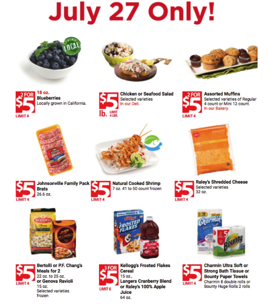 raleys meal deals