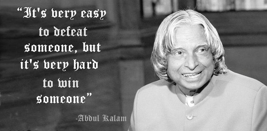 #RIPKalam - What an inspiration you were & what an inspiration you will continue to be. #quote #APJAbdulKalam http://t.co/mSB6z5W6lw