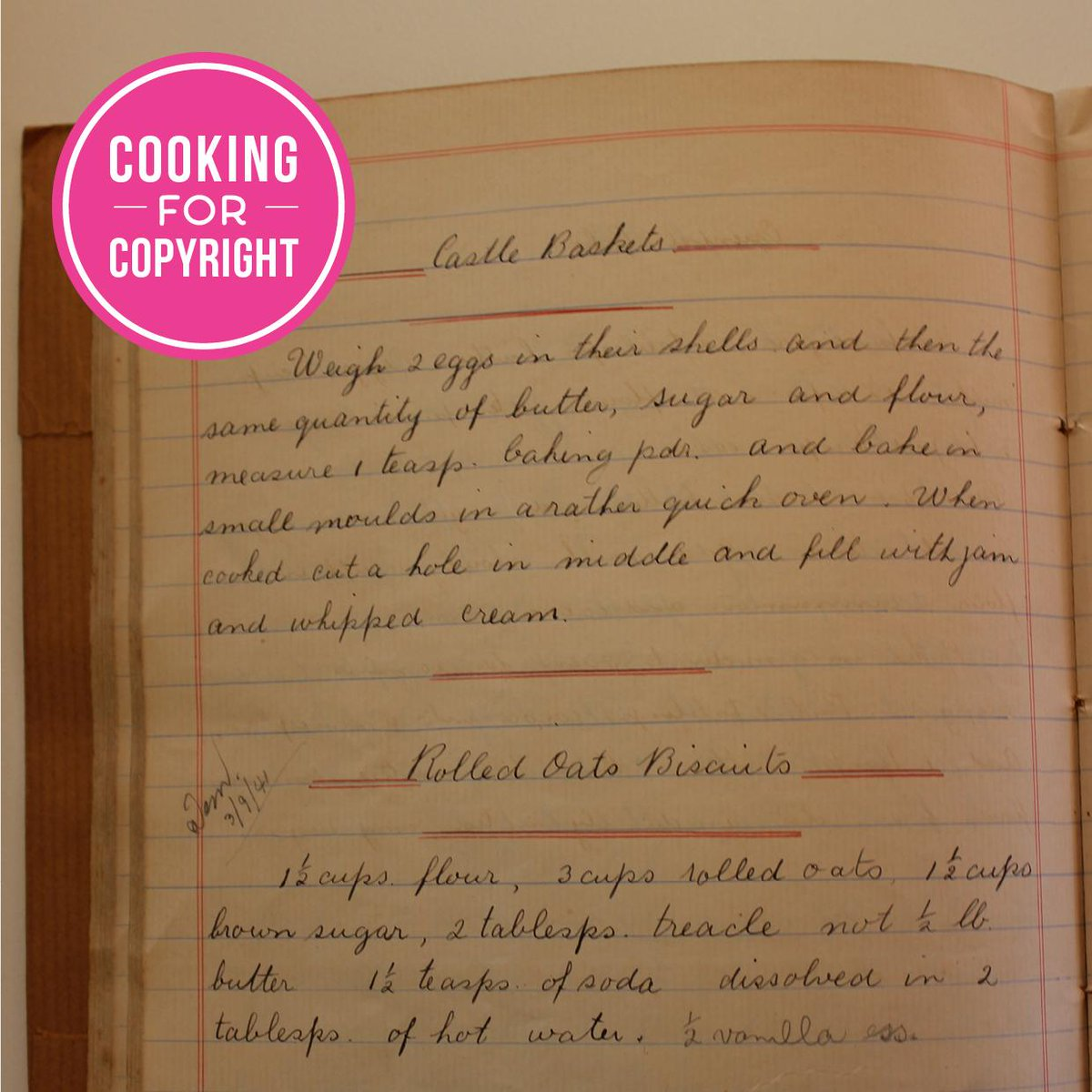 We're #cookingforcopyright Unpublished and published works should have the same copyright term. Set content free! http://t.co/FYyBDNTr8t