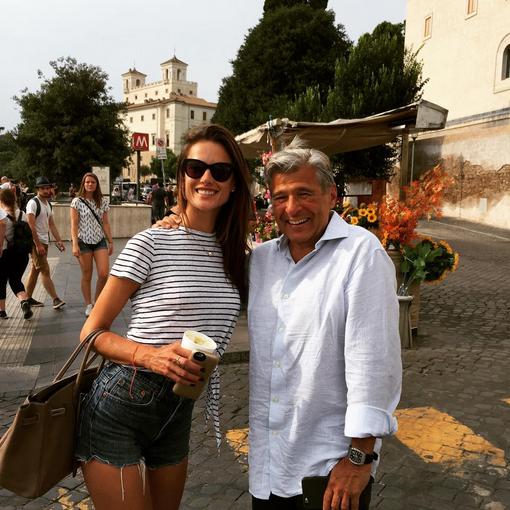 When in Rome ️🇮🇹🔥🎥 .... #VSholiday15 @ed_razek http://t.co/q7KBAFxzIN