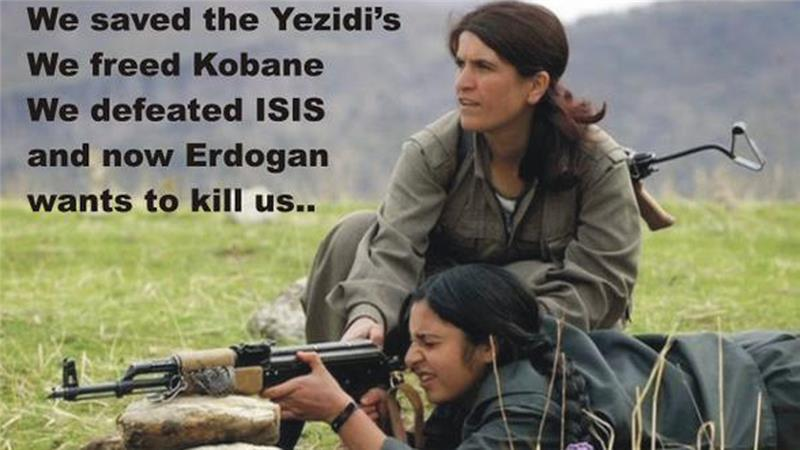 Erdogan and Syrian Kurds