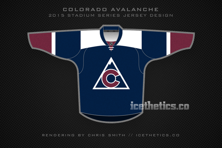 #Avs fans, prepare yourself for the 2015 #NHL #StadiumSeries jersey. (Or so I've been told.) http://t.co/z8tKADZ5iD