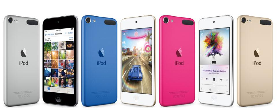 Apple's iPod Touch gets the same chip as the iPhone 6 (but it's not as fast):