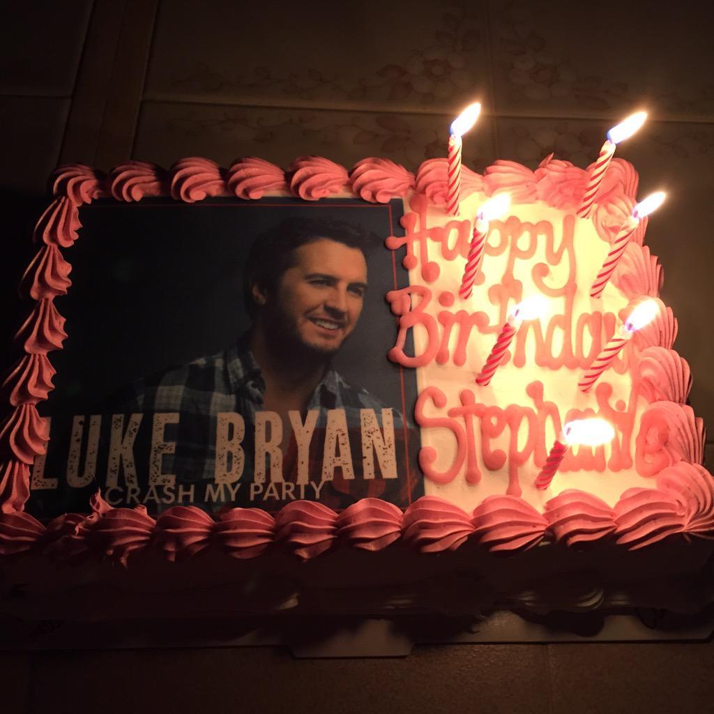 Stephanie Mulea On Twitter My Luke Bryan Cake For My Birthday