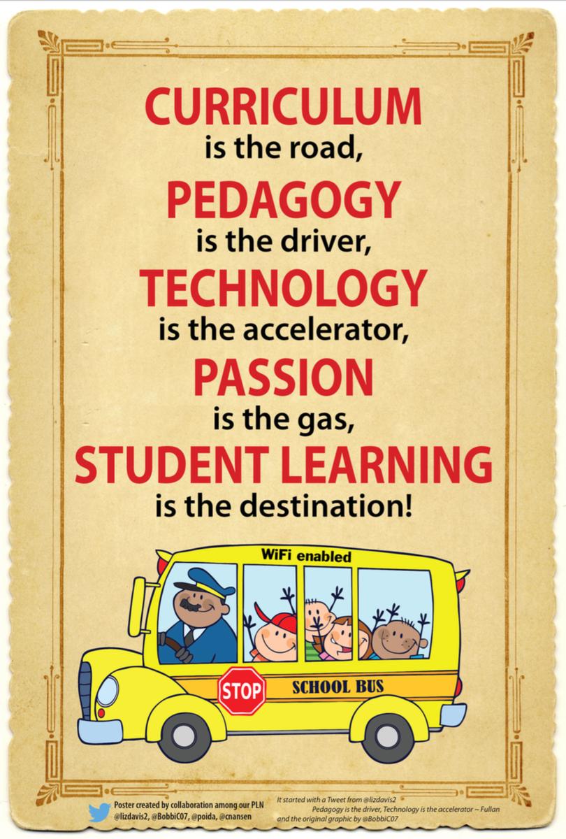 Technology and Pedagogy - #westedchat http://t.co/2je27s5zuJ