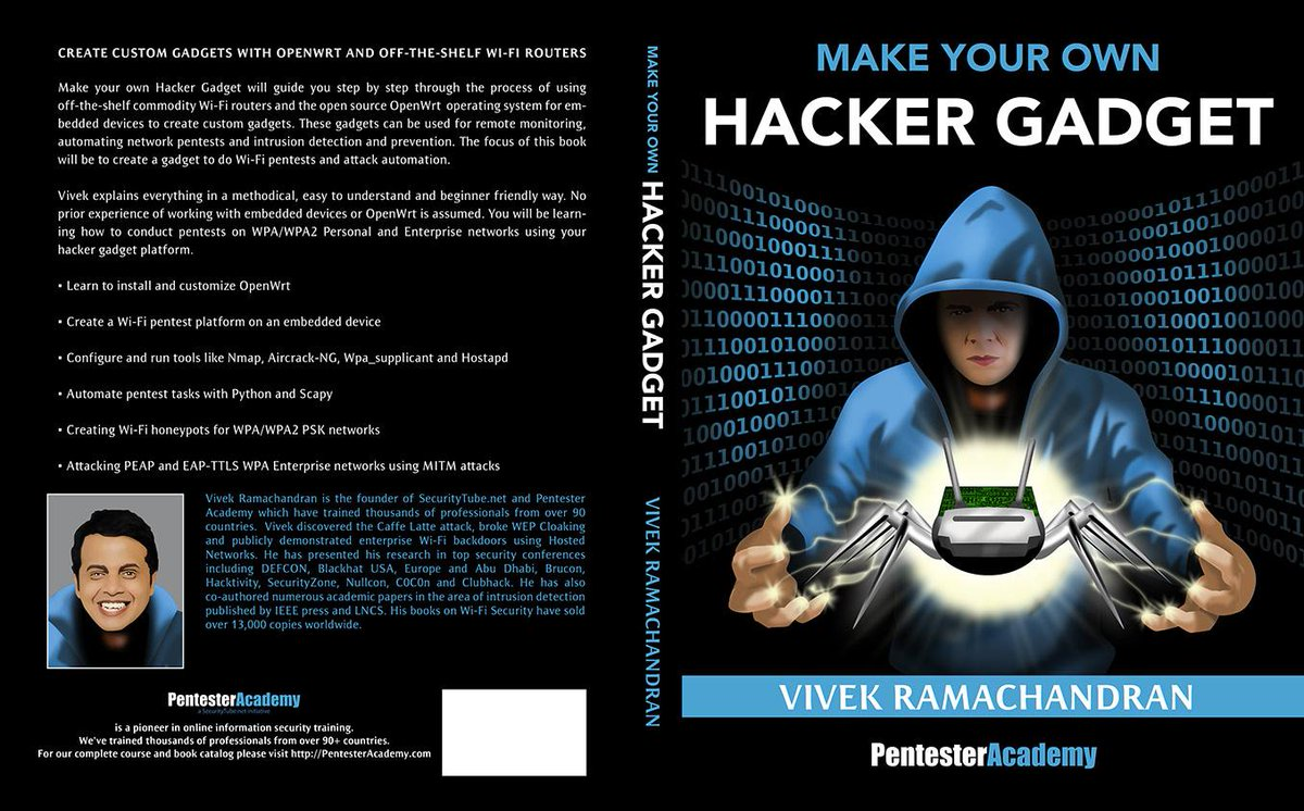 "Excited! trying my best to release the draft version at @__defcon__ at our booth --  ""Make your own Hacker Gadget"" http://t.co/26P1VovQ68"