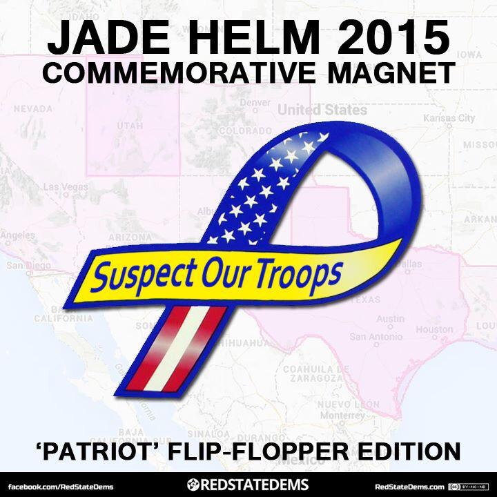Get your JADE HELM 2015 Commemorative Magnet ...Suspect our Troops (Patriot Flip Flopper Edition) p2 #JadeHelm15 http://t.co/jboIiXdetI
