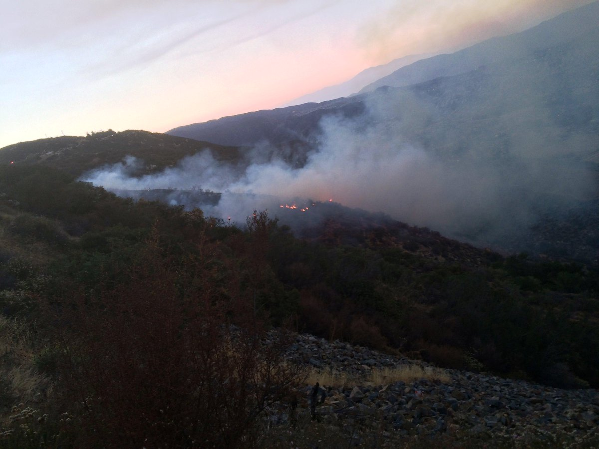 Macy Fire Vegetation Fire - Riverside County