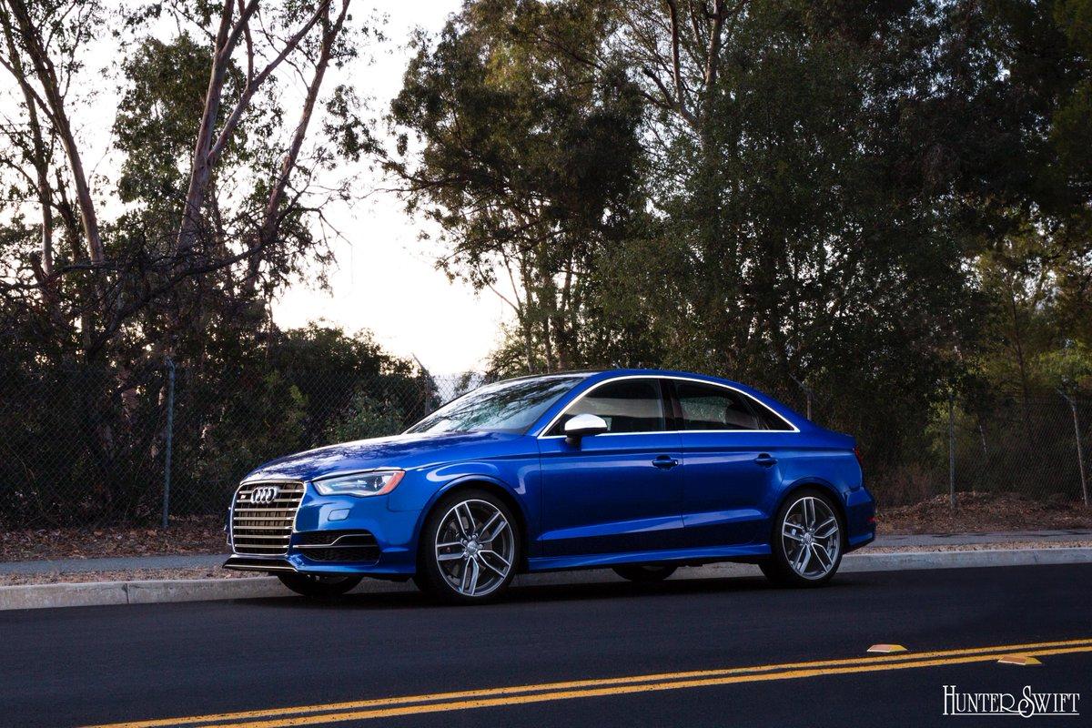 Fun little ride. @Audi S3. #AudiS3 Photo Cred: @HunterSwift http://t.co/SCm7sG2dFO
