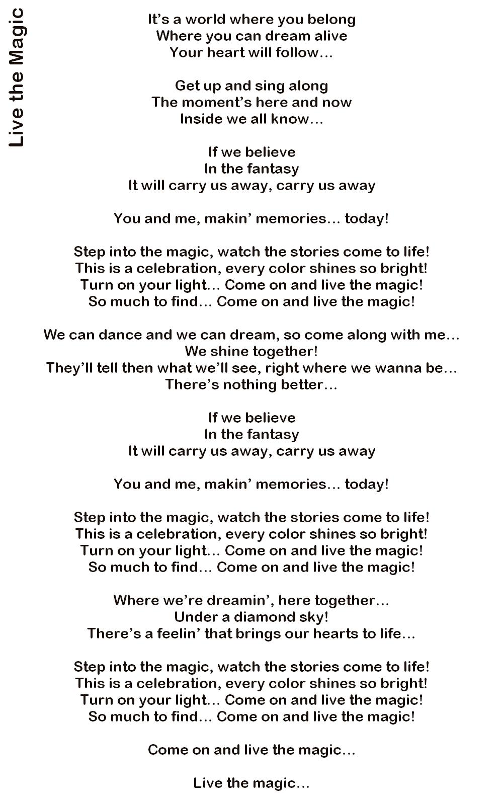 Me and you belong together lyrics
