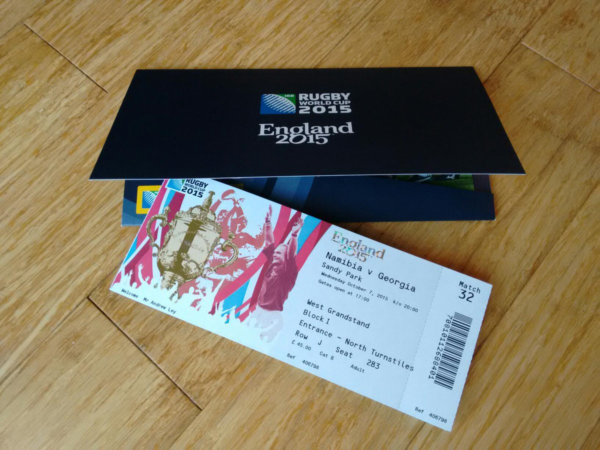 Oooooh, look what the postman dropped off! @RWC2015Exeter #RatherExcited #RWC2015 http://t.co/9R3HVMXdyZ