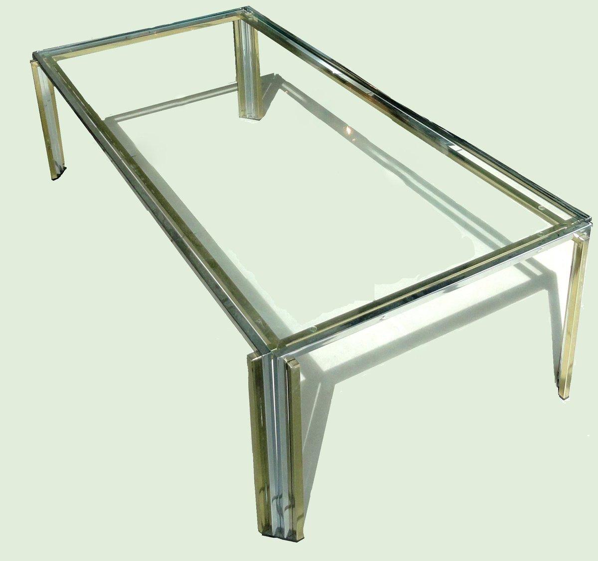 "Deco Chrome Coffee Table: Altamira On Twitter: ""Romeo Rega Glass Coffee Table #deco"