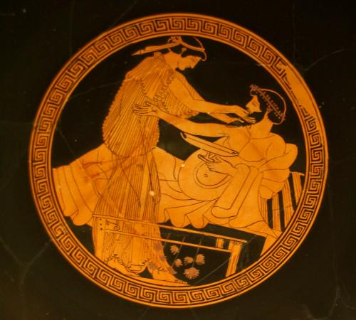 the pottery trade in the ancient greek society Fine etruscan pottery was heavily influenced by greek pottery and often imported greek potters and painters ancient roman pottery started by copying greek and.