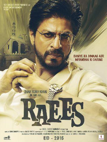 Kem Cho, Majama??? Poster of Raees an Excel & Red Chillies film. Dir. Rahul Dholakia. More to follow…hope u like it.