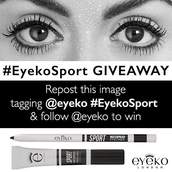 Join us as we celebrate female strength & beauty! Retweet for a chance to win new 100% life proof #Eyekosport's Set http://t.co/u7L9TWxvgu
