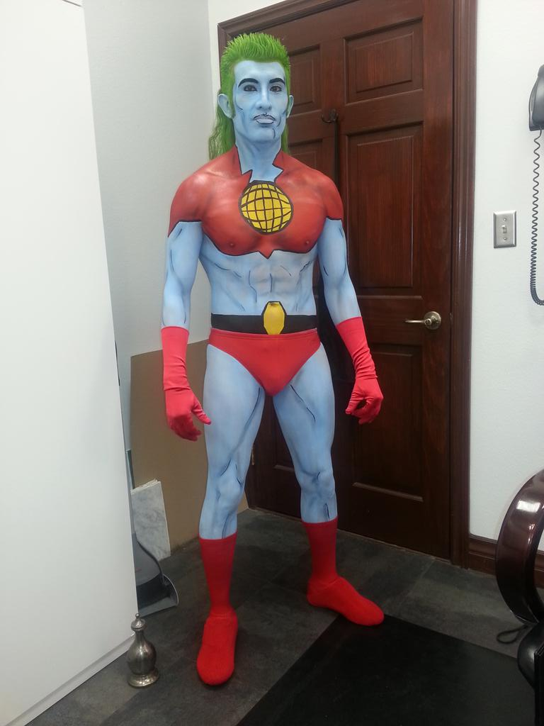 """ric bruce on twitter: """"tbtbody painting a client as captain"""