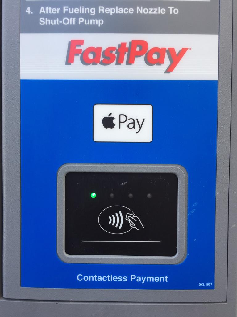 Just used ApplePay at the pump. @Chevron can't roll this out fast enough. http://t.co/zi5XI5twCX