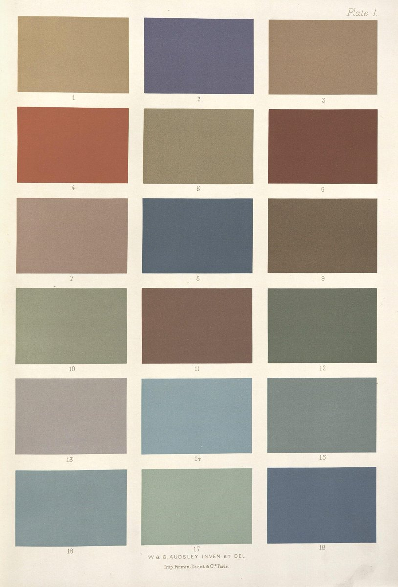 John Overholt On Twitter Quot The Permissible Color Palette