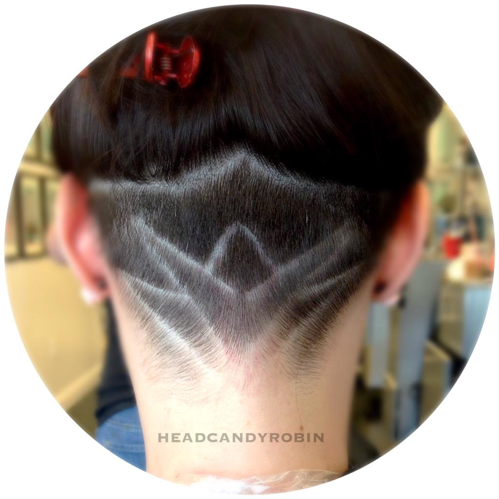 Salon Head Candy On Twitter Robins Lotus Flower Shaved Nape