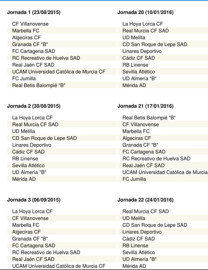 Calendario Segunda B Grupo 1.Dxtcopelorcaaguilas On Twitter 1 Calendario Completo Grupo Iv