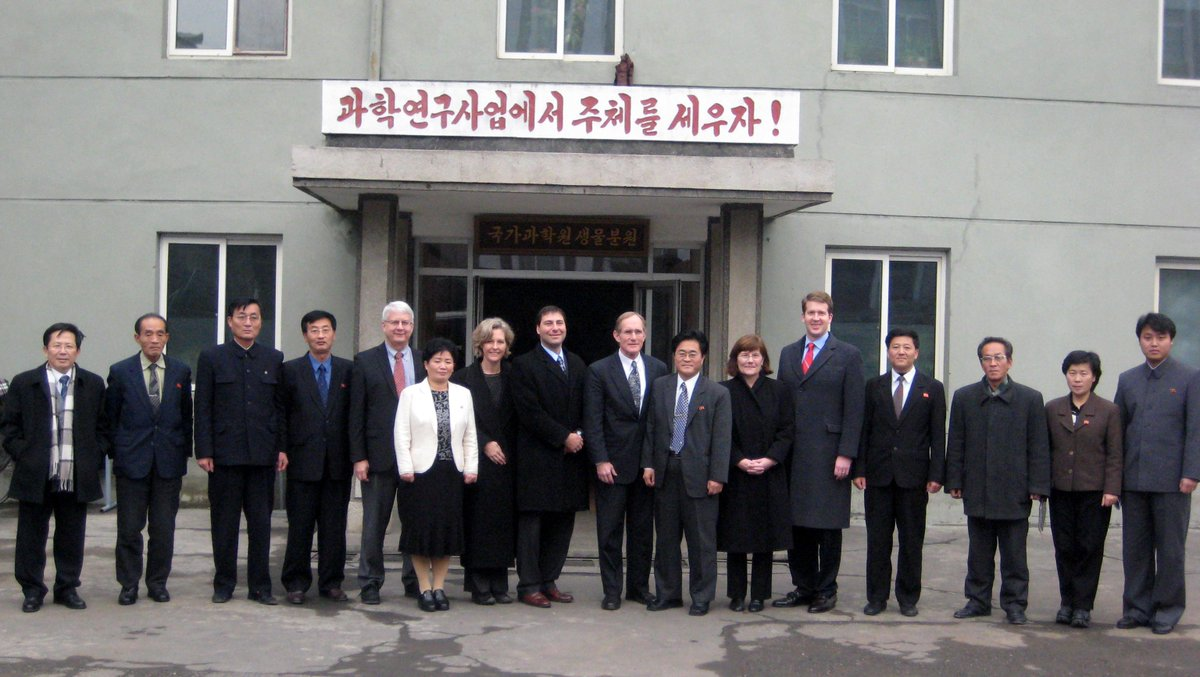 Proud to have been a member of the US-DPRK Science Engagement Consortium! Science > borders #IamAScienceDiplomat http://t.co/sA9rQmyW9N