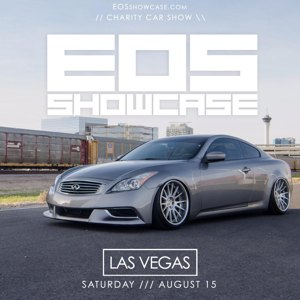 EOS Showcase On Twitter Days Until EOSshowcase Charity Car - Car show in vegas today