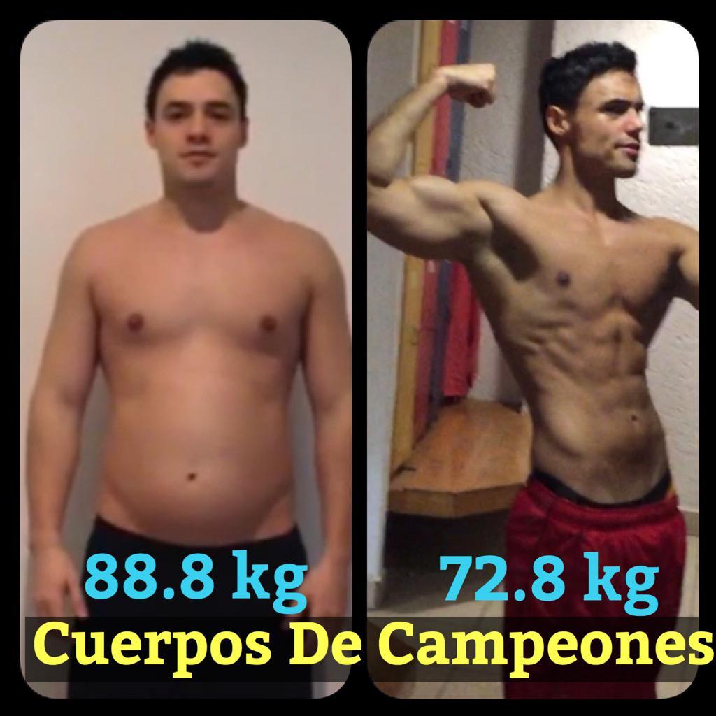 como bajar de peso cuerpos de campeones