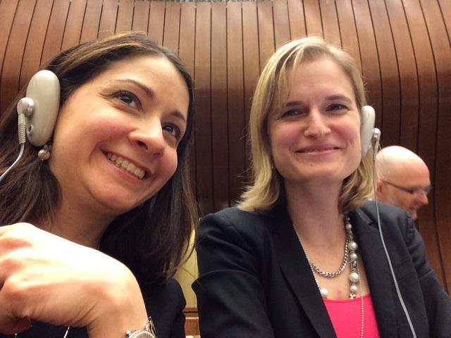 Long way from the lab! Two STEM rockstars promoting sci.&tech as a driver for development #CSTD #IAmAScienceDiplomat http://t.co/sHSjkFmzyA
