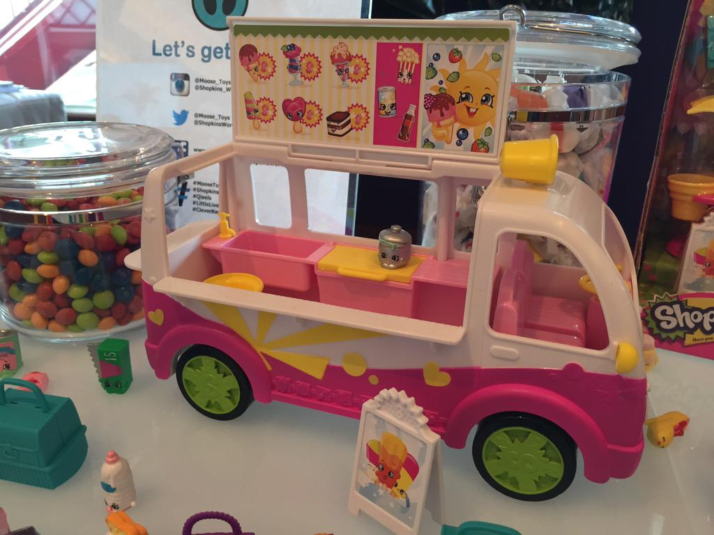 I scream, you scream... @Moose_Toys Shopkins Ice Cream Truck is a must-have! #sweetmoosetoys  #BBNYC http://t.co/vvPAOBLp1F