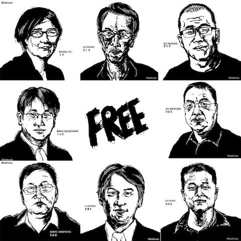 Canada's Ambassador to #China calls the regime to #FreeTheLawyers http://t.co/tXeic2R7Sy @badiucao http://t.co/T87cOpiCpt