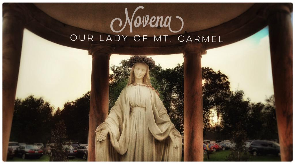 We are praying for your intentions this feast day of #OurLadyofMountCarmel during tonight's #novena. #catholicstl http://t.co/K4QXgubW4l