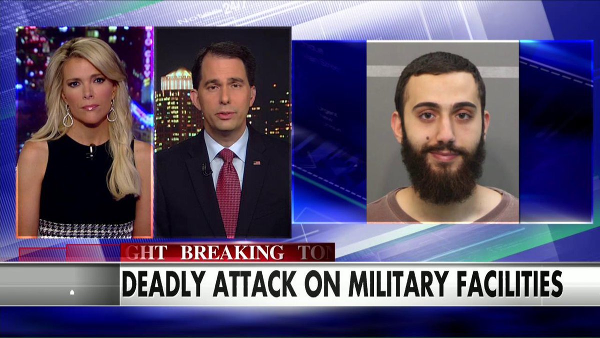 "Replying to @FoxNews: .@ScottWalker: ""We need to acknowledge that we're at war and radical Islam is our enemy."" #KellyFile http://t.co/INKyhTahad"
