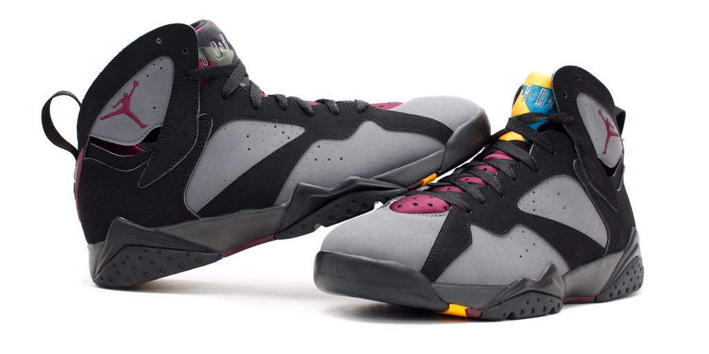 huge discount b5df8 112bf ... usa flight club on twitter air jordan 7 bordeaux. shop t.co glz9ojmpia t